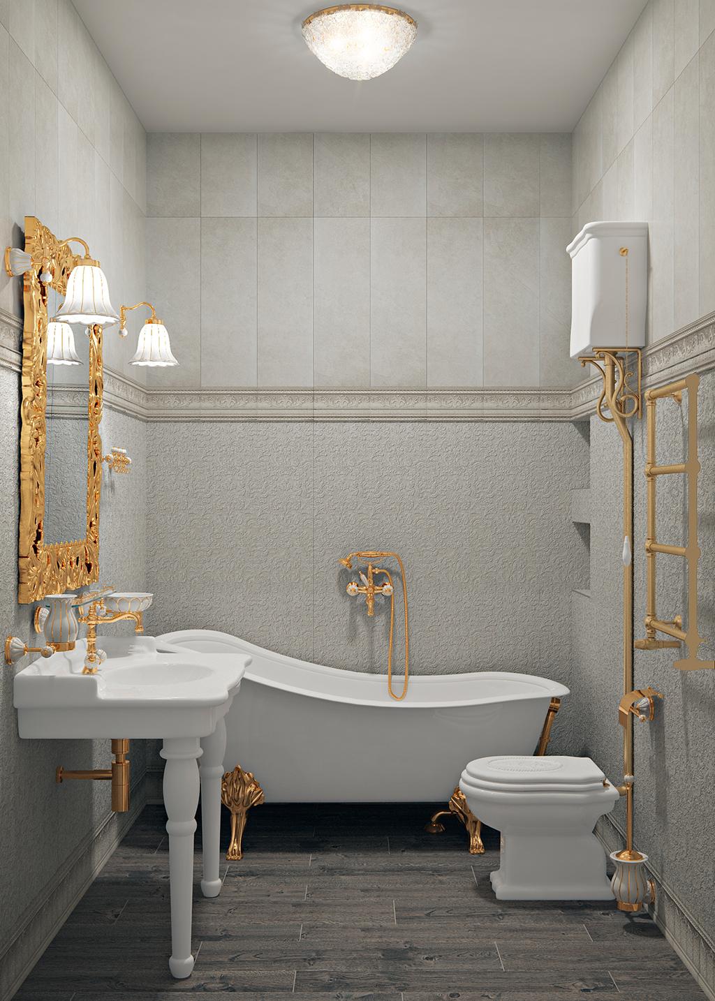 Bathroom 001 - Интерьеры