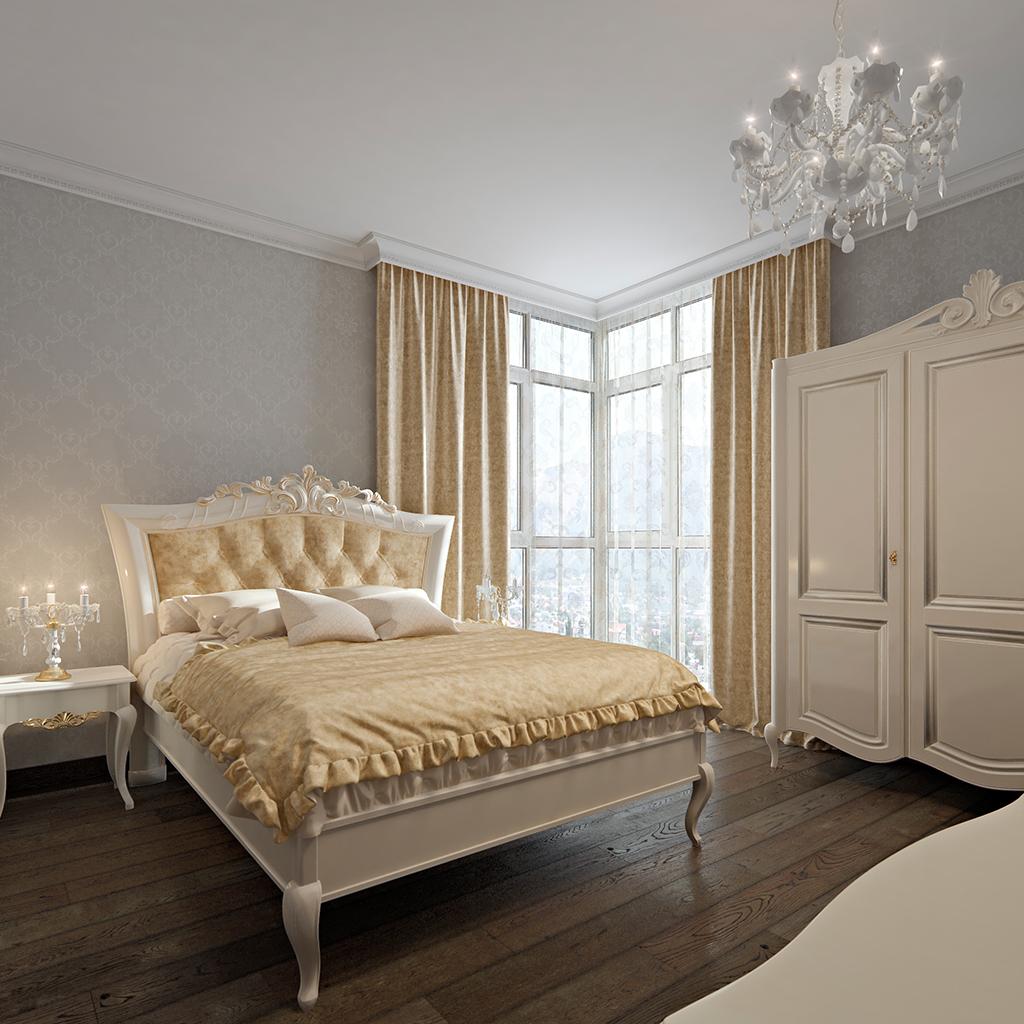 BedroomParents 001 - Интерьеры