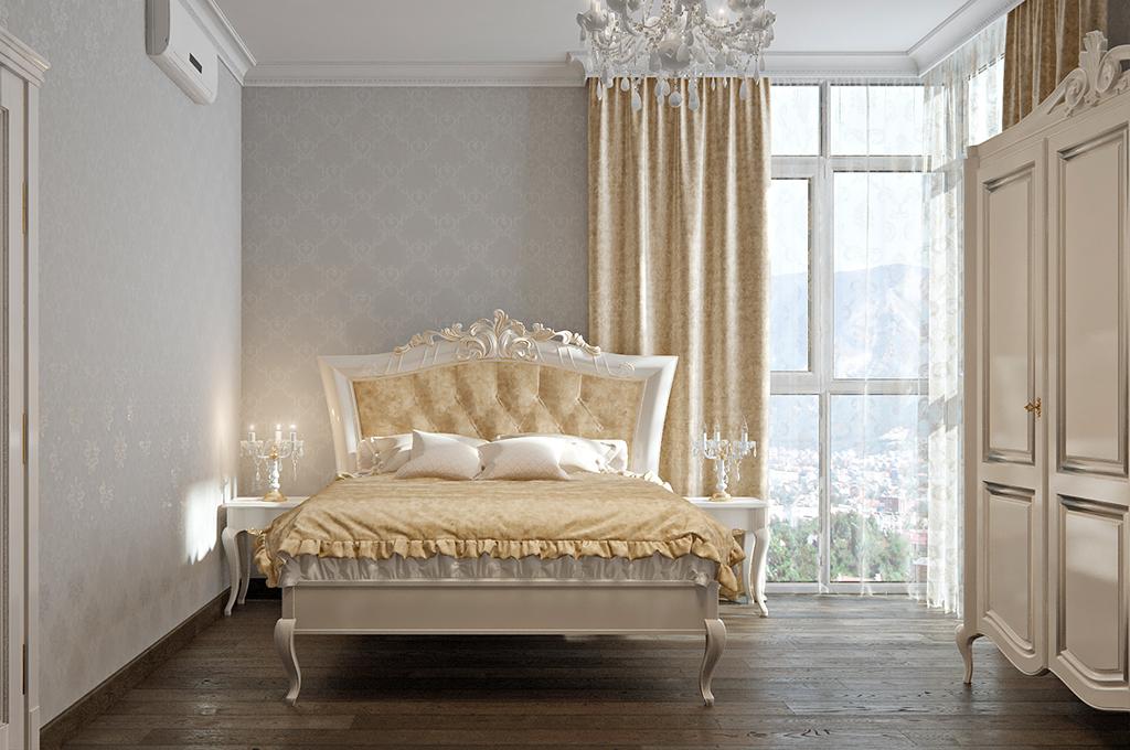 BedroomParents 002 - Интерьеры